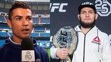 РЕАКЦИЯ РОНАЛДУ НА БОЙ ХАБИБА НУРМАГОМЕДОВА И ЭЛА ЯКВИНТЫ НА UFC 223 !