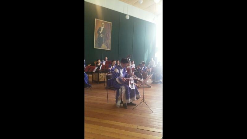 Нутгийн зүгт (Х. Алтангэрэл) Морин хуур с оркестром