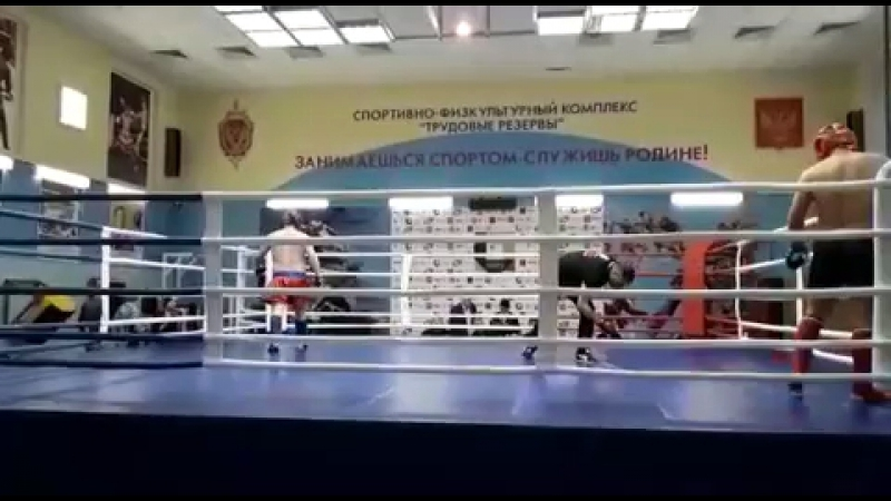 Красивый нокаут, от спортсмена КСЕ Волк Руслана