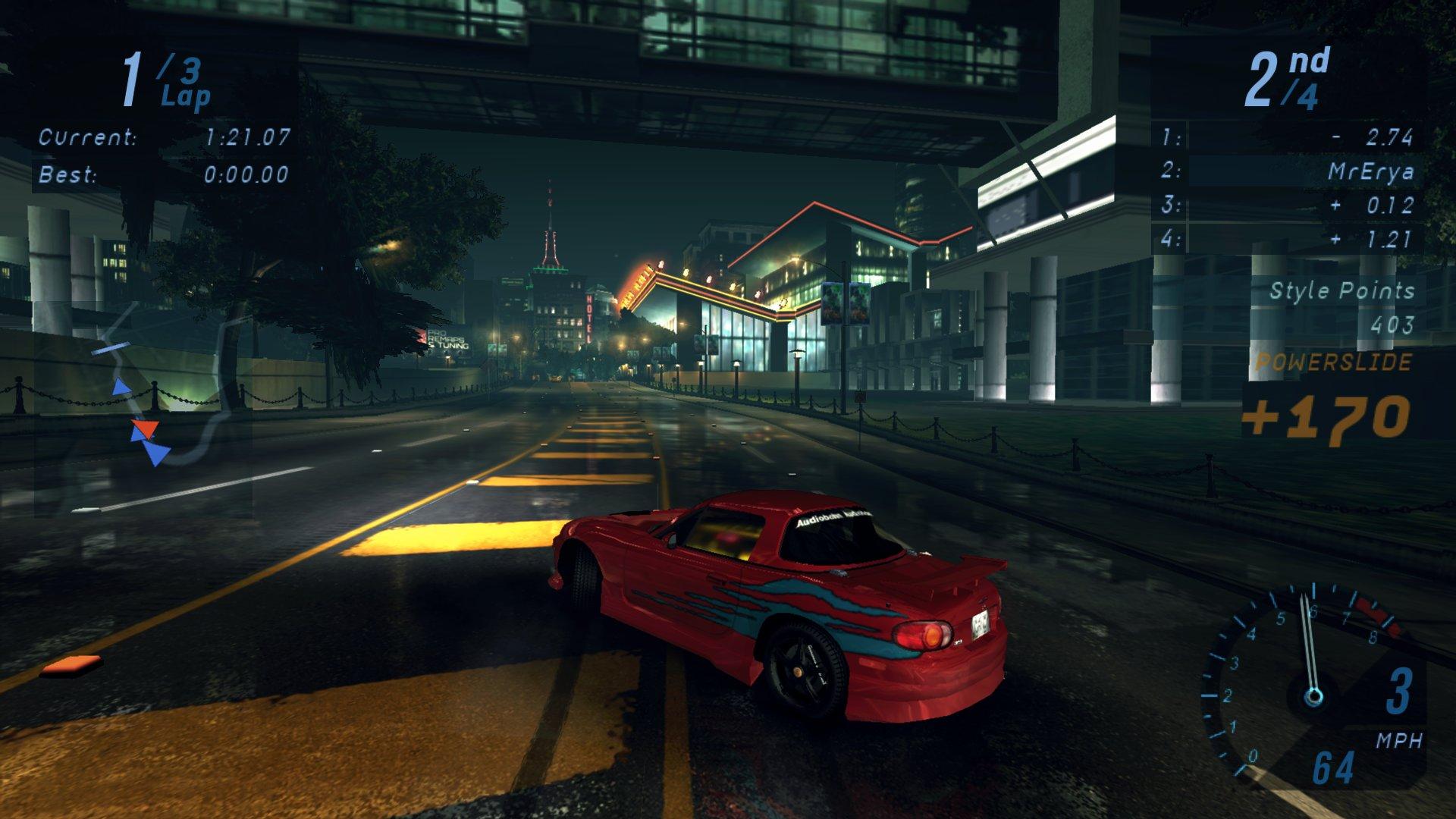 NFS: Underground: Redux Mod для Другие игры - Скриншот 3