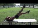 Экстремальные упражнения для пресса. Супер мотивация, бодибилдинг, качалка тренировки тренинг накачать спорт красивое тело мышцы