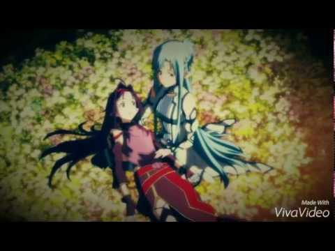 ♠AMV♠Юки Конно ( SAO ) - А помнишь как она смеётся...