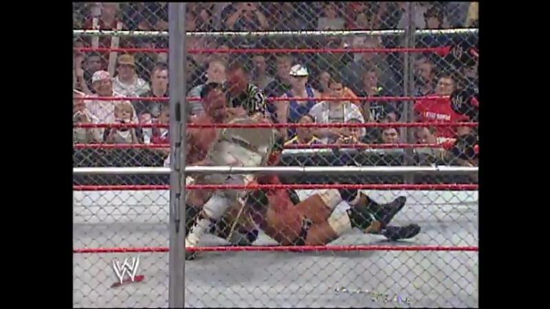 |WM| Трипл Эйч против Батисты - Vengeance 2005