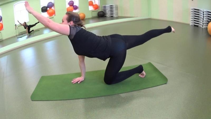 ЙОГАТЕРАПИЯ верхний отдел мышц спины
