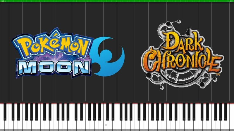Iki Town Balance Valley - Pokémon Moon Dark Chronicle [Piano Tutorial] Power A-Rangers