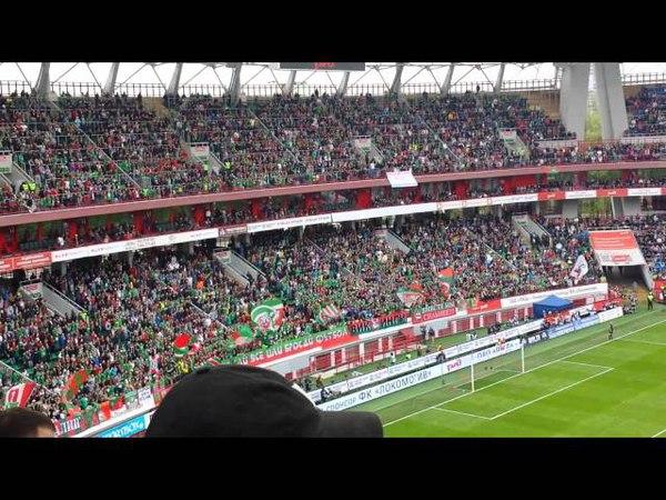 Lokomotiv vs. Zenit fans bouncing May 4, 2014 Фанат Локо и Зенита пригают 4 Май 2014