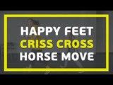 3 базовых хип-хоп движения Видео - урок Happy Feet Criss Cross Horse move E-DANCE TV