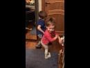 Буба и Давид парный танец