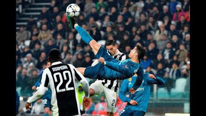 Легендарный гол от Криштиано Роналду! Champions League 2018