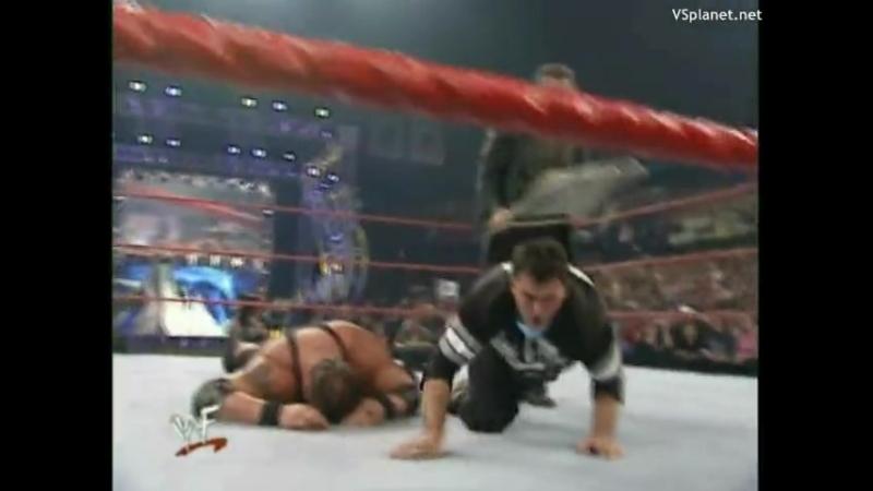 |WM| Шейн МакМэн против Биг Шоу - Беклэш 2001
