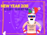 HAPPY NEW YEAR 2018 | RED PUB