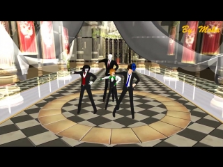 MMD_Bad_∞_End_∞_Night_【Ben_drowned,Jeff_the_killer,Eyeless_Jack_and_Slenderman】Moka_And_Foxvinny_Entertainment248