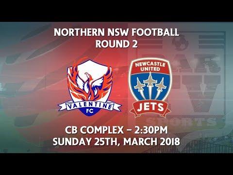 2018 NNSWF NPL Round 2 - Valentine Phoenix v Newcastle Jets Academy