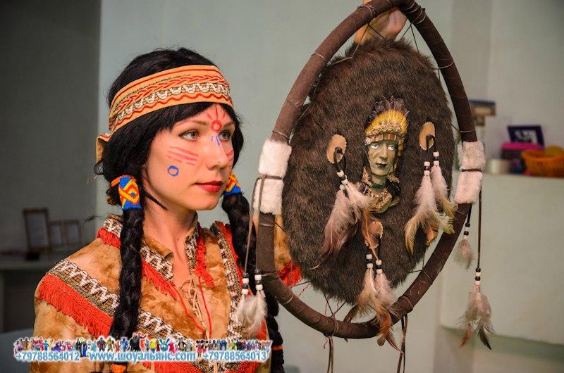 тотем шамана на детском празднике
