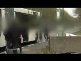 Asylanten gehen mit Gewalt gegen einheimische Bürger