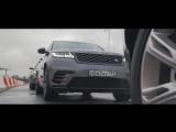 Новый Range Rover Velar - Демонстрация в центре Jaguar Land Rover Experience