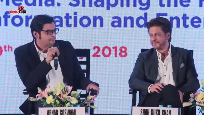 Shahrukh Khan at the Magnetic Maharashtra Convergence 2018 ¦ Panel Discussion