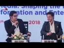 Shahrukh Khan at the Magnetic Maharashtra Convergence 2018 ¦ Panel Discussion