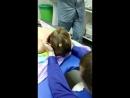 Введение коллагеновых нитей в голову