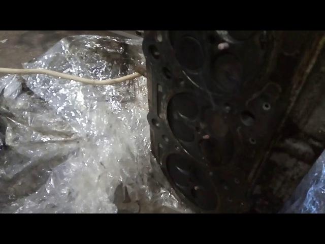 Mercedes vito w638 Проверка свечей накала прямо на ГБЦ.