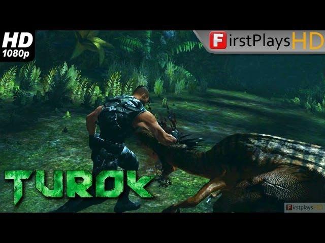 Turok - PC Gameplay 1080p (Unreal Engine 3- version ( 2008 )101010101101111 -