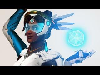 Valkyrie Suit Symmetra (Photoshop + Commentary)
