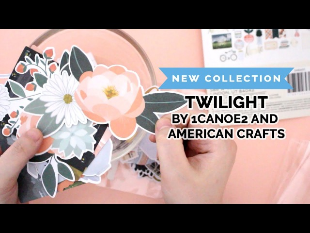 Introducing the brand NEW Twilight collection by American Crafts 1Canoe2!