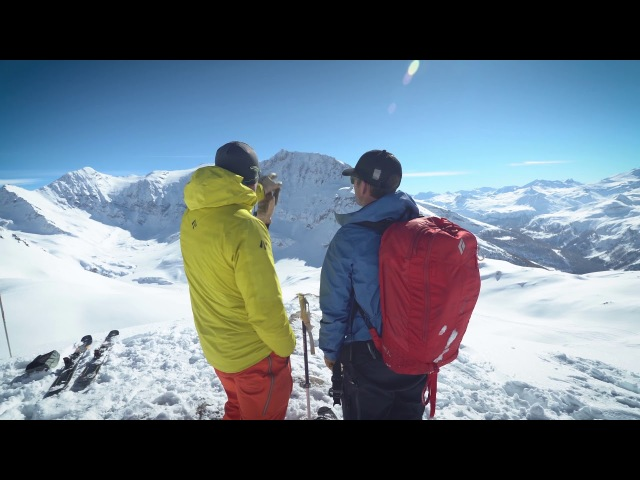 BD Athlete and Eleven Experience Guide Mike Barney Chases Pow in the French Alps