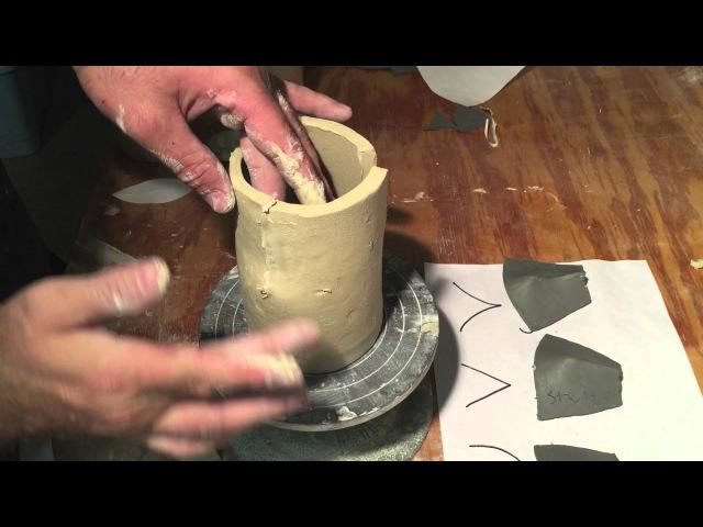 Handbuilt Cups Part II Darting