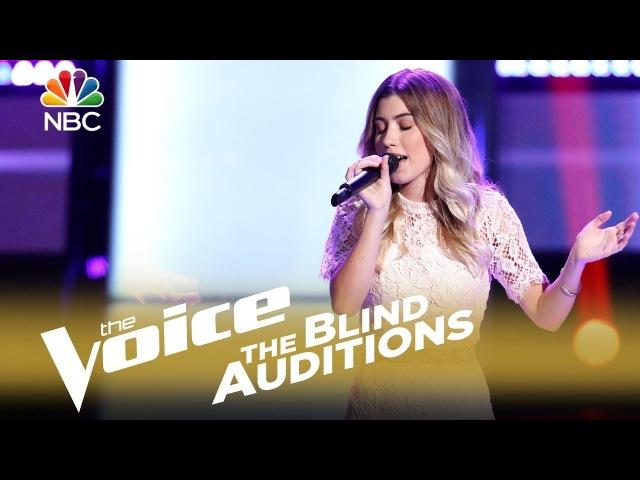 Шоу «Голос» США 2018. - Даллас Кэролайн с песней «Всегда в моих мыслях». — «The Voice» USA 2018. - Dallas Caroline: