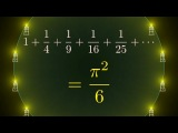 Why is pi here And why is it squared A geometric answer to the Basel problem