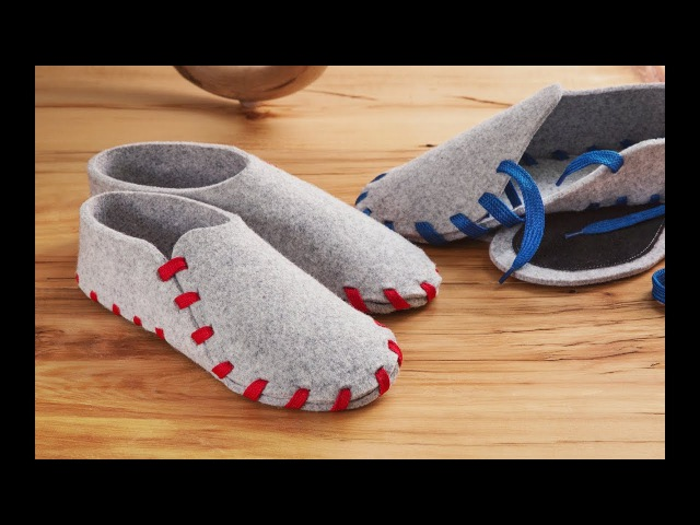 Cozy, colorful slippers that YOU make.