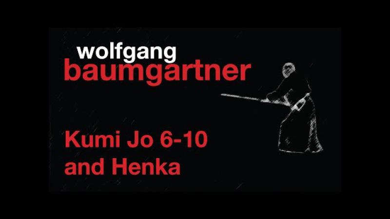 European Gasshuku 2013: Wolfgang Baumgartner - Kumi Jo 6-10 and Henka