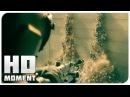 Зомби прорвались через стену в Иерусалим - Война миров Z 2013 - Момент из фильма