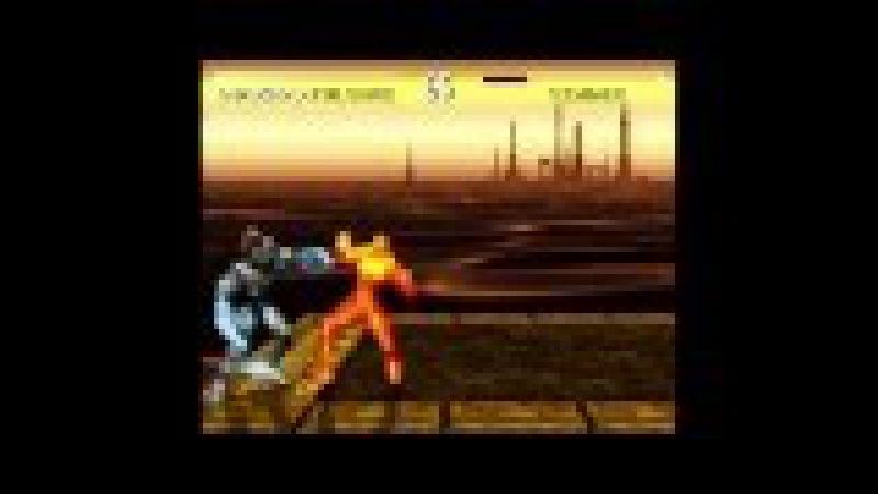 Killer Instinct (Actual SNES Capture) - Fulgore Playthrough on Max Difficulty