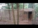 Primitive technology The Big Bird Enclosures Primitive life wilderness