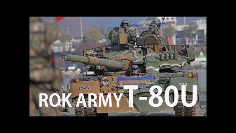 [4K]ROK ARMY T-80U Tank Cross a River Training대한민국 육군 3기갑여단 T-80U전차 도하훈련 [ridereye]