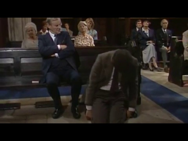Мистер Бин в церкви (Mr. Bean V kostele)