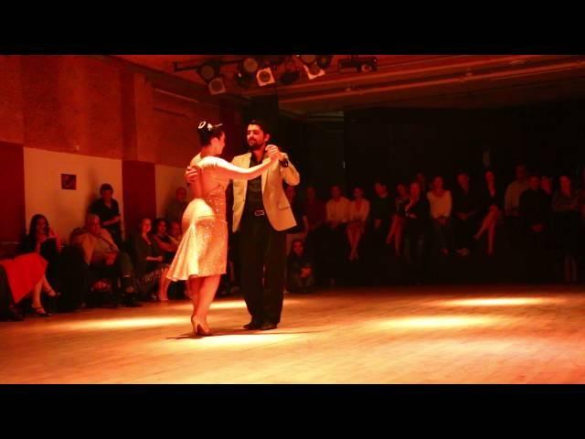 Ariadna Naveira and Fernando Sanchez - (3 Vals) - Milonga Lo de Silvia - 28/11/2015 Tel-Aviv