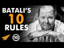 """FAILURE is not in MY VOCABULARY!"" - Mario Batali - Top 10 Rules"