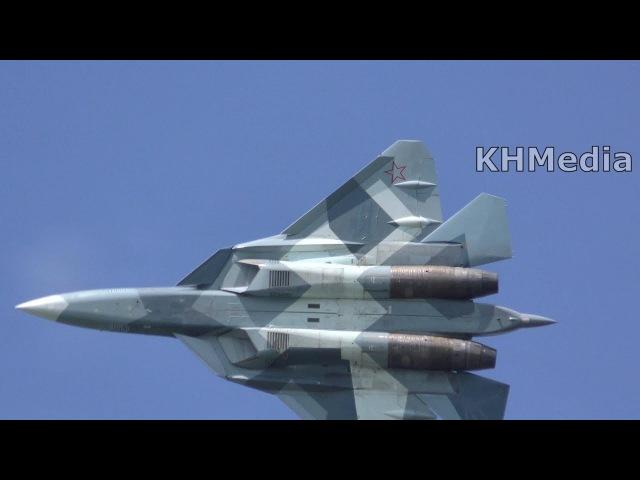 Су-57 МАКС 2017 ПАК ФА Т-50 Su-57 MAKS 2017 PAK FA T-50