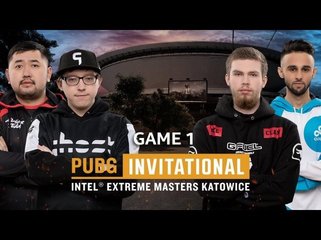 PUBG - Game 1   IEM PUBG Invitational Katowice 2018