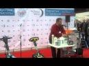 - Тарас Дударь рассказывает о уборке на демо площадке выставки ExpoClean 2013