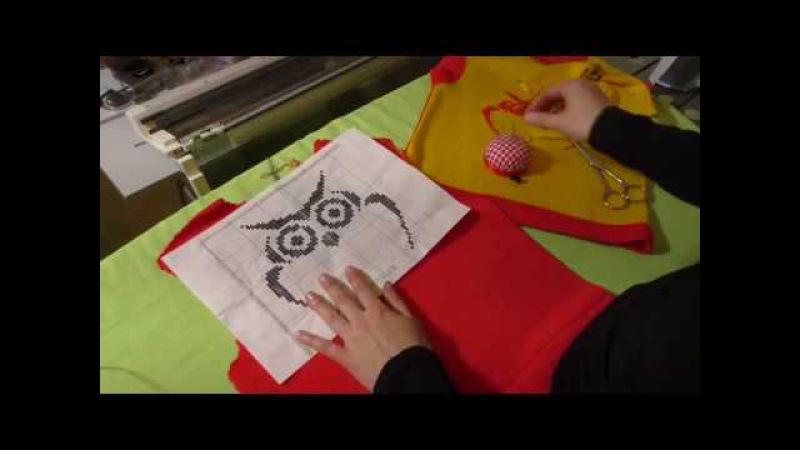 Вышивка петля в петлю. Декорирование трикотажных изделий вышивкой