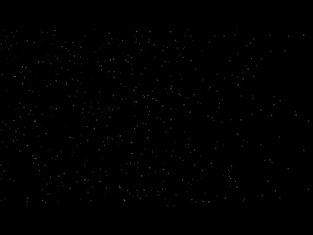 Падающий снег для видео монтажа - Футаж видео маска Падающий снег