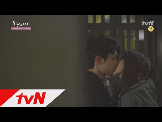 Hogu's Love 'I think I'm crazy..' Uee kisses Choi Woosik without realising! Hogu's Love Ep12