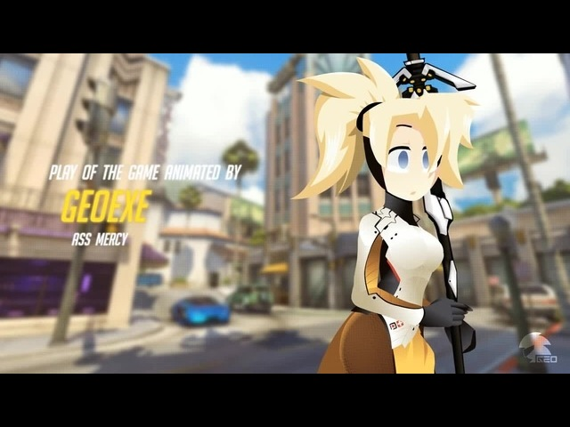 PLAY OF THE GAME - AS MERCY | Overwatch Parody