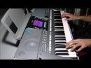 Агата Кристи-Сказочная Тайга на синтезаторе YAMAHA PSR-S710