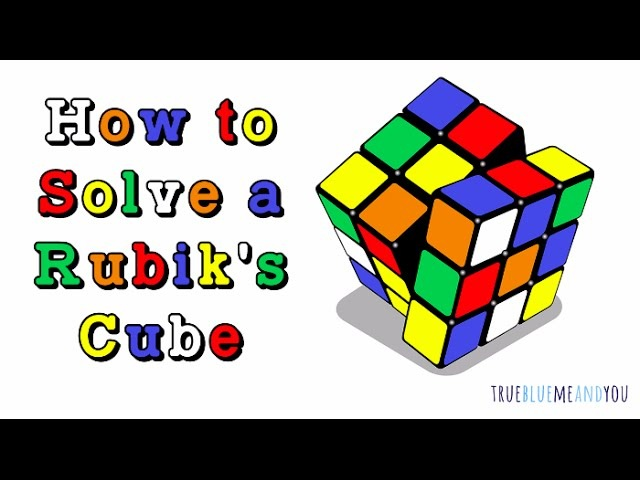How to Solve a Rubik's Cube In Under Two Minutes