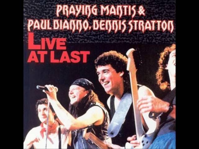 Praying Mantis Paul Di'Anno, Dennis Stratton – Live At Last [1990]